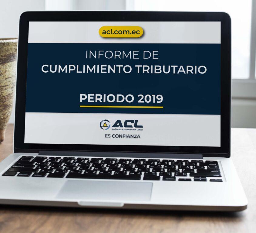 INFORME DE CUMPLIMIENTO TRIBUTARIO PERIODO 2019