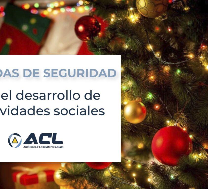 medidas de seguridad en en desarrollo de actividades sociales Ec