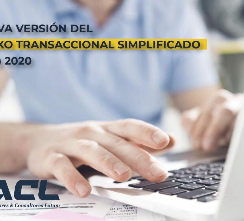 nueva version anexo transaccional simplificado